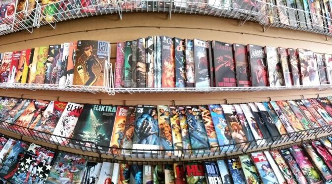 Ankündigung: Neue Kategorie im Blog – Comics & Graphic Novels (2016)