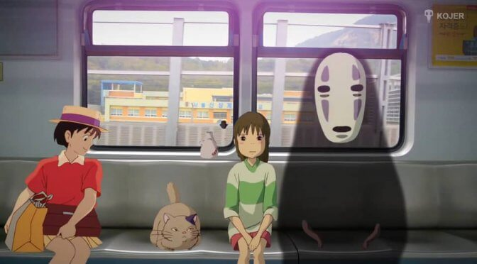 Video: Studio Ghibli in Real Life (2016)