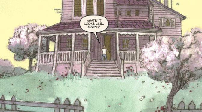 Comic: Kris Oprisko – Clive Barker's The Thief Of Always (2005)
