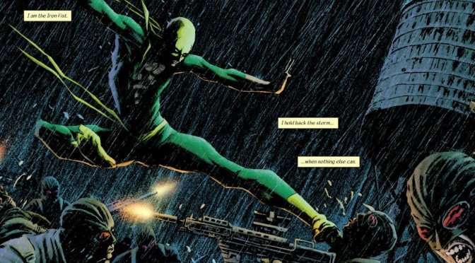 Comic: Ed Brubaker & Matt Fraction – Immortal Iron Fist, Vol. I – The Last Iron Fist Story (2007)